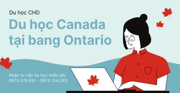 Du Học Canada Tại Bang Ontario