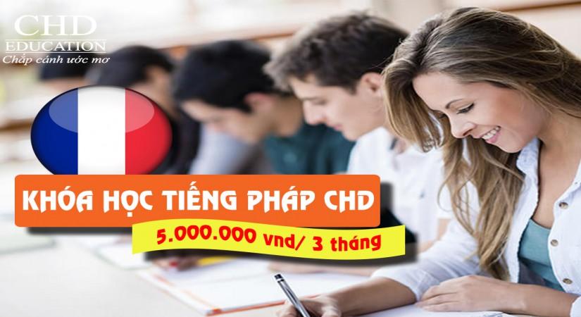 Khai giảng lớp tiếng Pháp chất lượng cao tại CHD (Thứ 3 hàng tuần)
