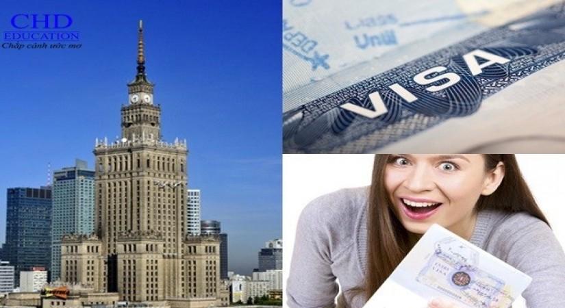 Xin visa du học Ba Lan nhanh nhất tại CHD